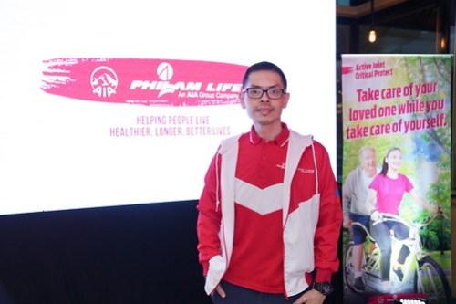 Leo Tan, Chief Marketing Officer of Philam Life