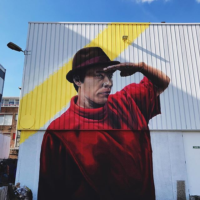 #streetartistry #streetart #powwow #rotterdam #igrotterdam #visitrotterdam #wanderlust #citytrip #travel #vsco #vscocam @melikepainting #colours #wall #ignetherlands #netherlands #blue #sky #art