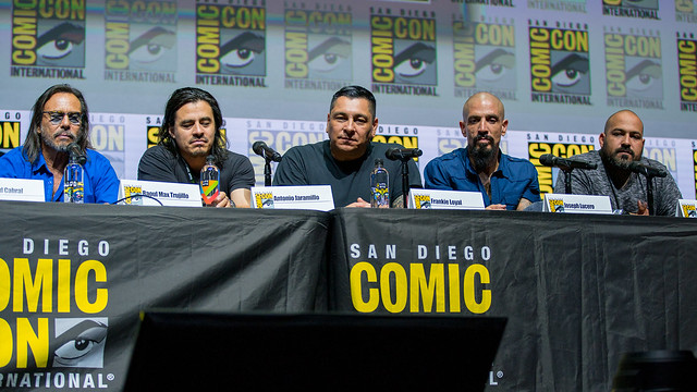 "Raoul Max Trujillo, Antonio Jaramillo, Frankie Loyal, Joseph Lucero and Vincent ""Rocco"" Vargas"