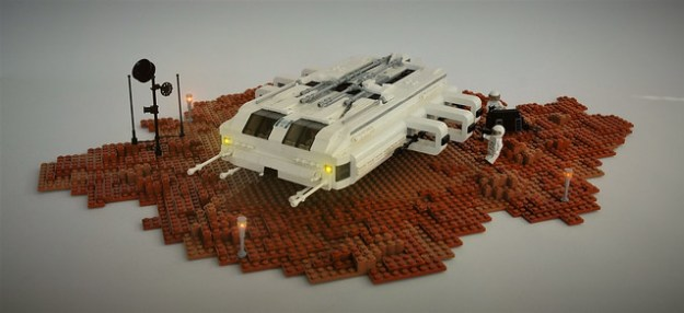HORN II Shuttle on Mars