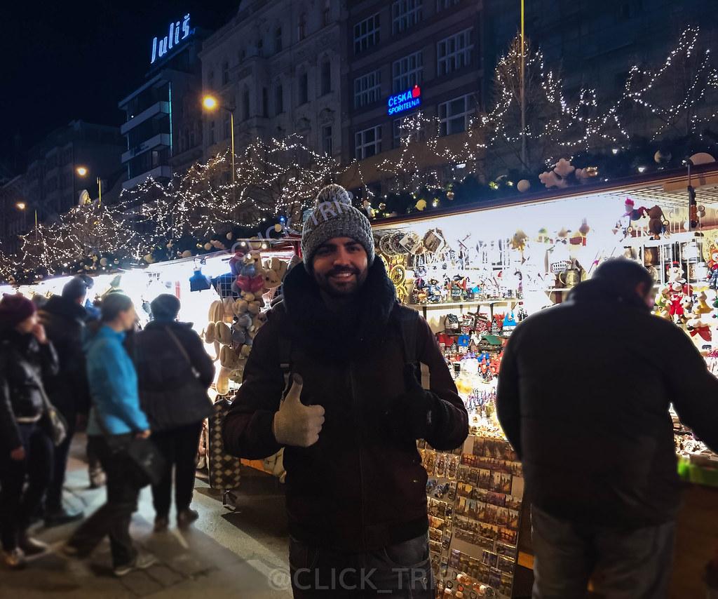 Mercadillos de Navidad en Praga | Plaza de Wenceslao