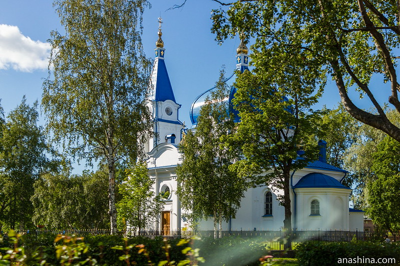 Церковь Святого Николая, Сортавала, Карелия