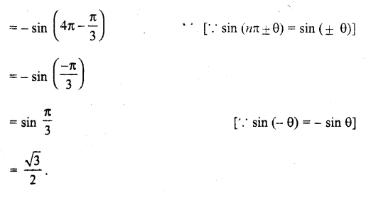 UP Board Solutions for Class 11 Maths Chapter 3 Trigonometric Functions 3.2 9.1