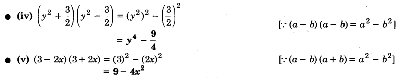 UP Board Solutions for Class 9 Maths Chapter 2 Polynomials 2.5 1.1