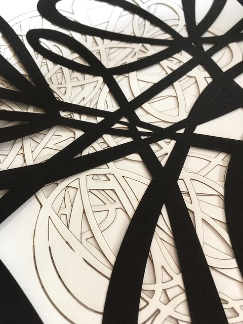 Laser cutting experiments