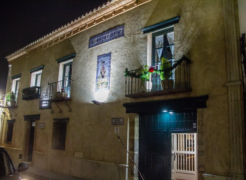 casa calle Jeronimo Ceballos 2 Meson El Corregidor Almagro Ciudad Real