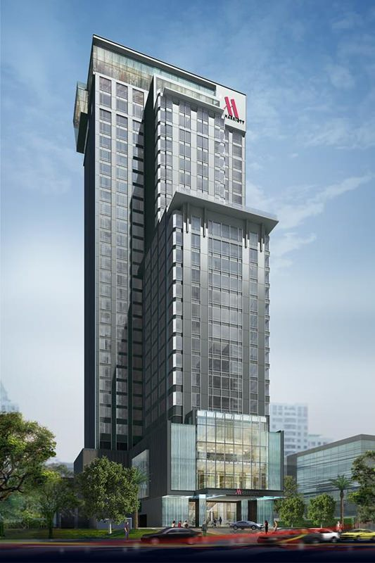 Bangkok Marriott Hotel The Surawongse 1