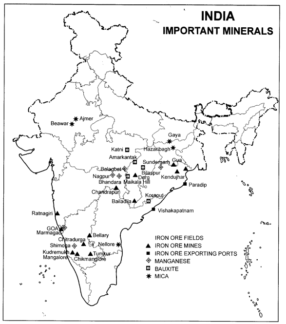 Extra Questions for Class 10 Social Science Geography Chapter 5 Minerals and Energy Resources.01