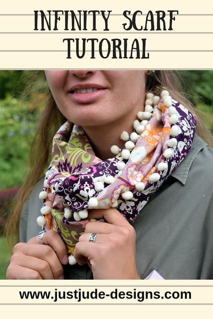 Infinity scarf tutorial