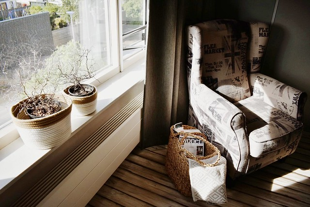 Riviera Maison fauteuil vensterbank mand