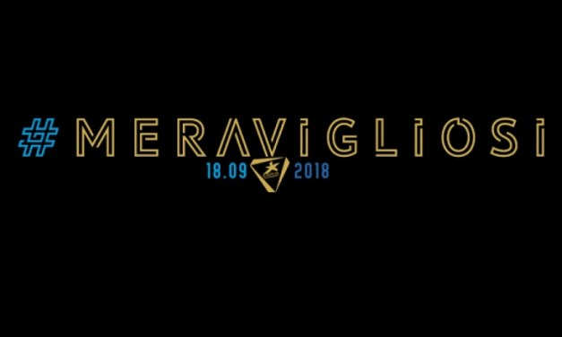 Meravigliosi 2018, un martedì da Campioni stasera a Roma