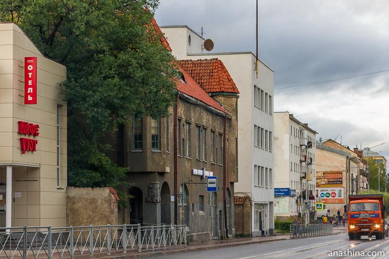 Дома финского и советского периодов в Сортавале