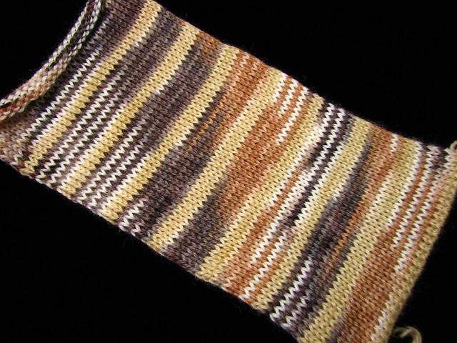 S'More, Please - August 2018 Tiger Club - Safari sock yarn