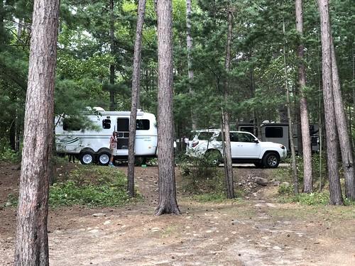 Samuel de Champlain Provincial Park - Campsite