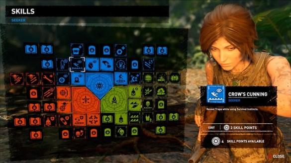 Shadow of the Tomb Raider - Skills