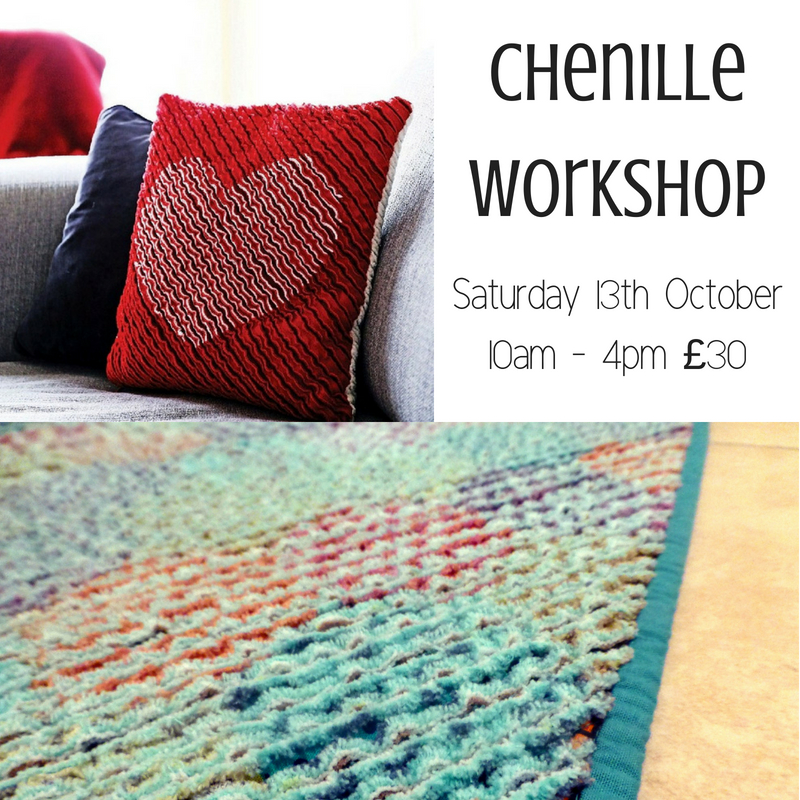 Chenille Workshop Oct18