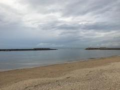 9月最初の海辺