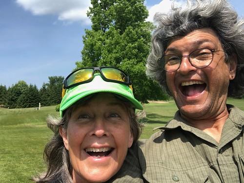 Owen Sound Golfing selfie