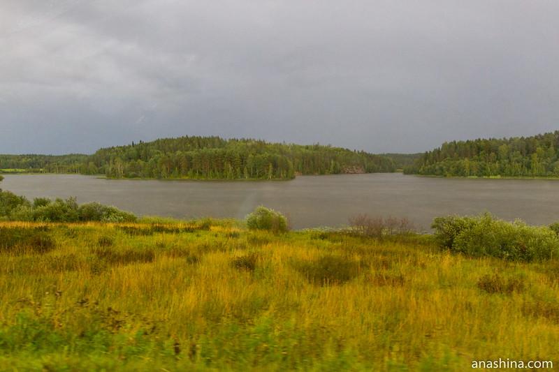 Озеро в Северном Приладожье