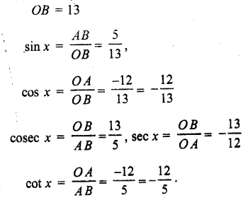 UP Board Solutions for Class 11 Maths Chapter 3 Trigonometric Functions 3.2 5.1
