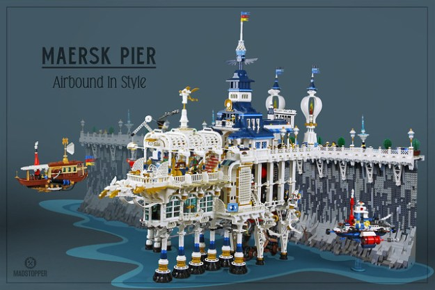 """Full Steam"" Maersk Pier"