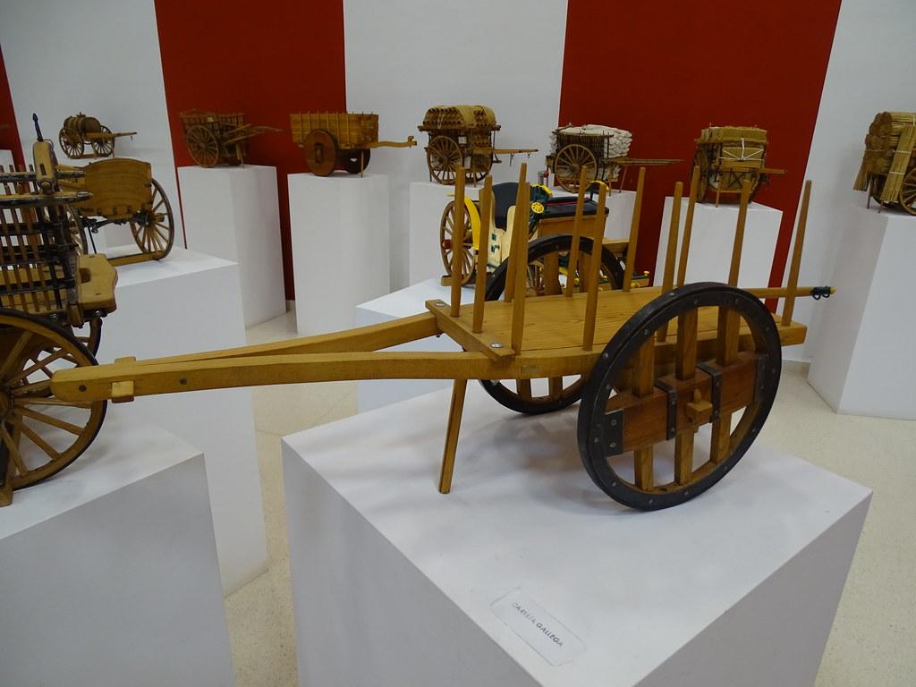 carreta gallega Severiano Lucas Sala Almagre Museo Eloy Teno Campo de Criptana Ciudad Real