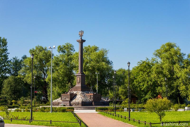 Стела «Кронштадт — город Воинской славы»