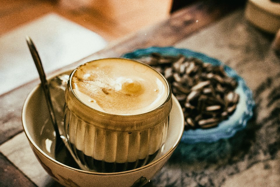 Image result for vietnamese egg coffee photos gifs