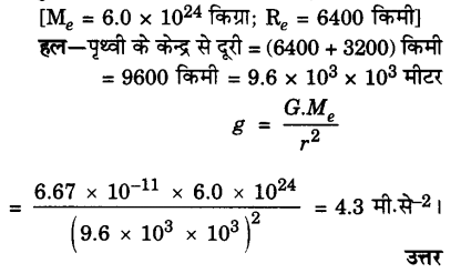UP Board Solutions for Class 9 Science Chapter 10 Gravitation A 10