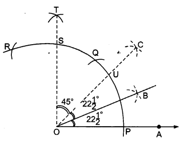 UP Board Solutions for Class 9 Maths Chapter 11 Constructions 11.1 3.1