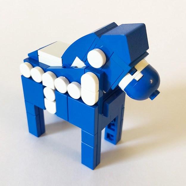 LEGO Dala Horse - Blue