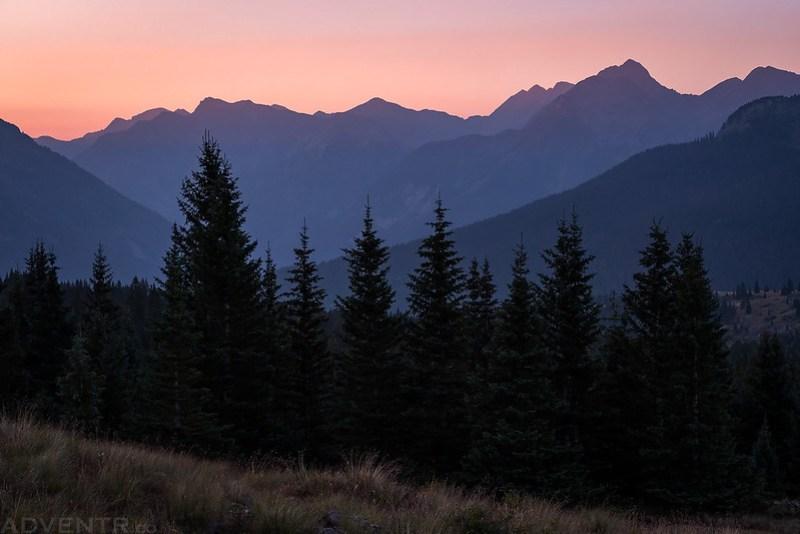 Hiking Before Sunrise