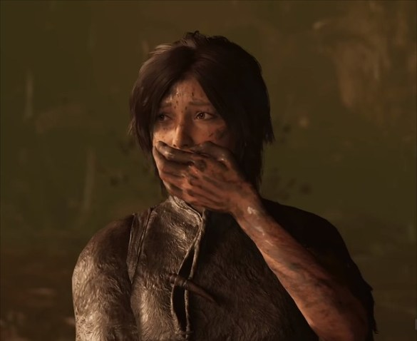 Shadow of the Tomb Raider - Lara Crying