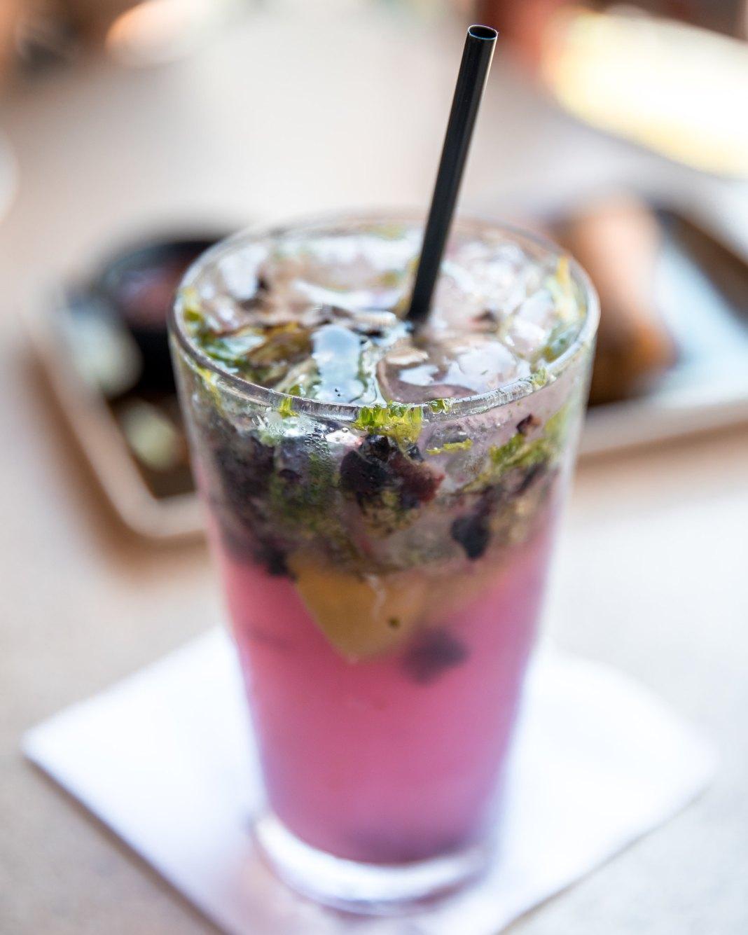 PF Chang's Waikiki Restaurant Blueberry Mojito