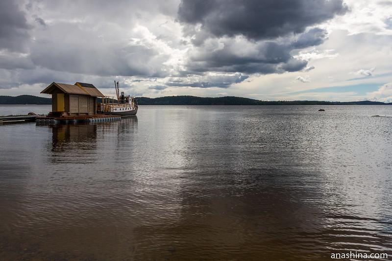 Залив Хиденселькя, Ладожское озеро