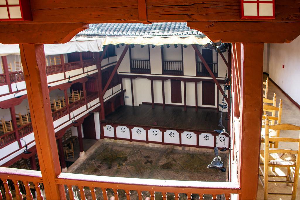 escenario interior Corral de Comedias Almagro Ciudad Real 05
