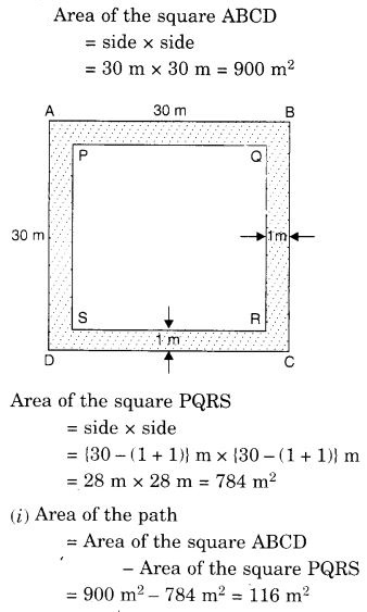 study rankers class 7 maths Chapter 11 Perimeter and Area 63