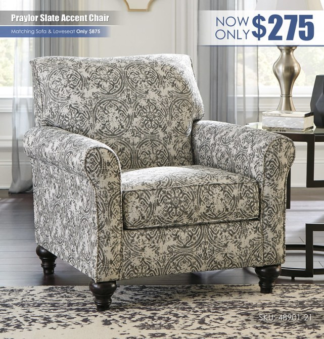 Praylor Slate Accent Chair_48901-21