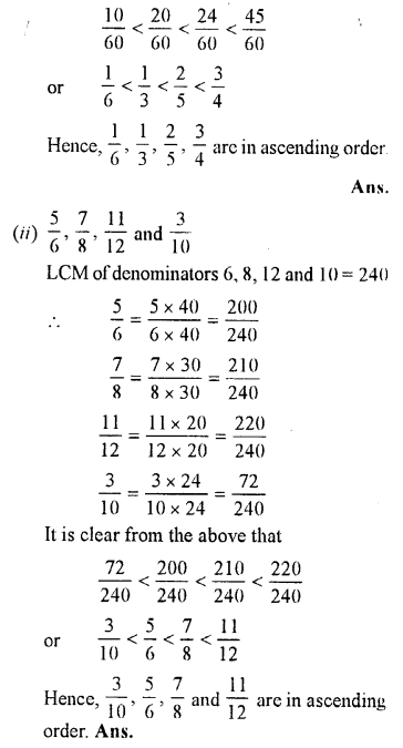Selina Concise Maths class 7 ICSE Solutions - Fractions (Including Problems)-B4...