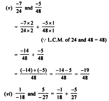 Selina Concise Mathematics class 7 ICSE Solutions - Rational Numbers-c2........