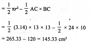 RD Sharma Class 10 Solutions Chapter 13 Areas Related to Circles Ex 13.4 - 23a