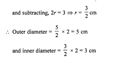 RD Sharma Class 10 Solutions Chapter 14 Surface Areas and Volumes Ex 14.1 62a