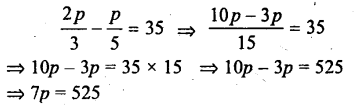 Selina Concise Mathematics class 7 ICSE Solutions - Simple Linear Equations (Including Word Problems) -c11..