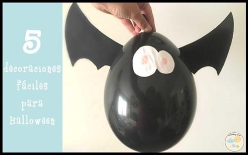 Decoraciones fáciles para Halloween