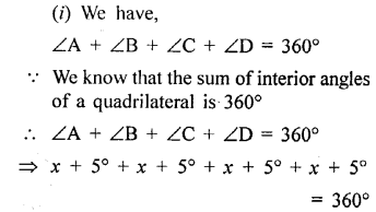 Selina Concise Mathematics Class 6 ICSE Solutions - Quadrilateral-14s