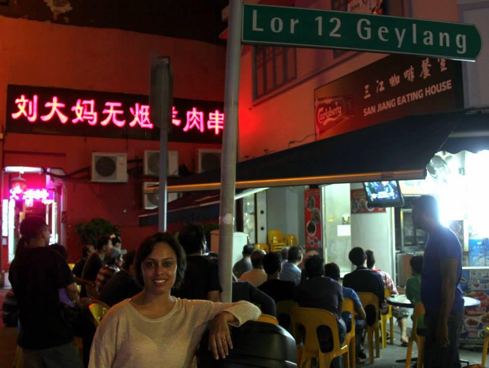 Geylang is in Singapore
