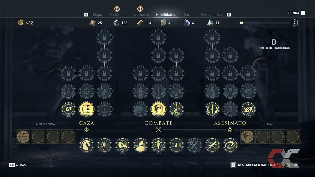 Assassins Creed Odessey - Overcluster 10