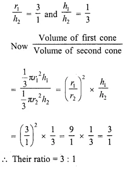 RD Sharma Class 10 Solutions Chapter 14 Surface Areas and Volumes  VSAQS 17