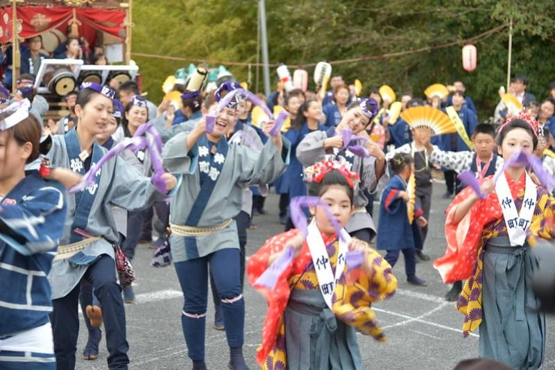 総踊り 佐倉の秋祭り 19
