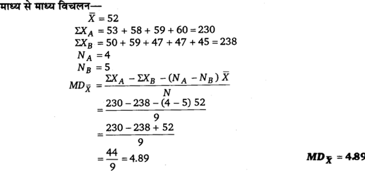 UP Board Solutions for Class 11 Economics Statistics for Economics Chapter 6 Measures of Dispersion 79